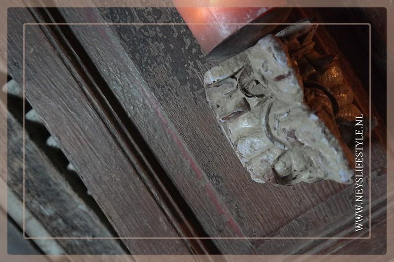 Wand ornament met kandelaar | 3