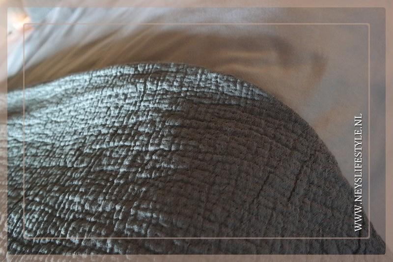 Sprei Denver grijs | 180 x 260 cm