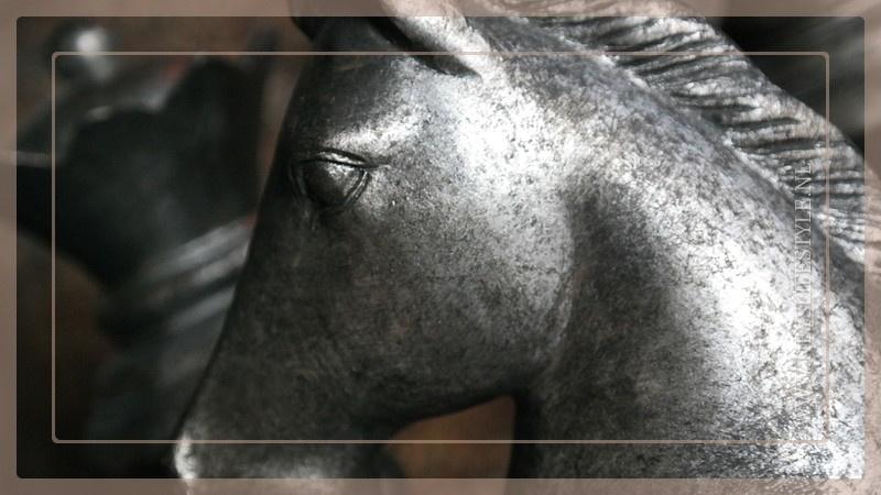 Schaakstukken Paris  | silver grey