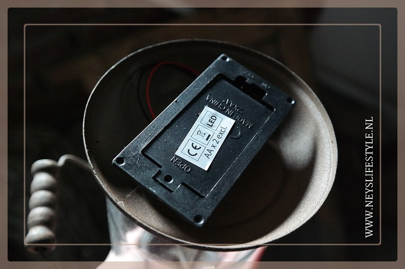 Lantaarn Lia LED roest