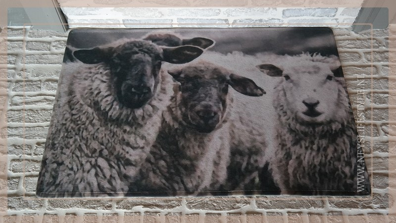 Deurmat schapen