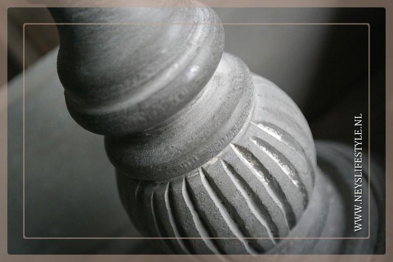 Kandelaar Noa | grey