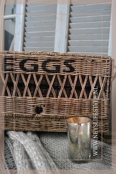 Eiermand rotan 24 eieren
