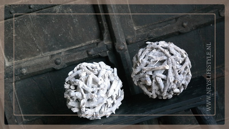Bal hout driftwood | whitewash