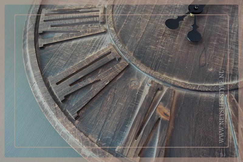 Klok hout | 60 cm