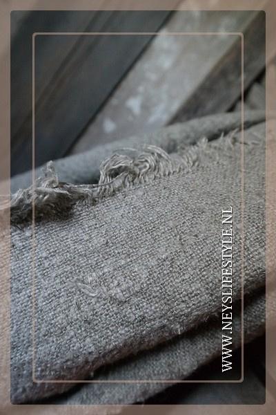 Linnen doek shabby naturel | XL