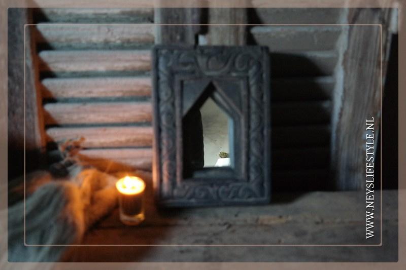 Spiegel hout India | 4