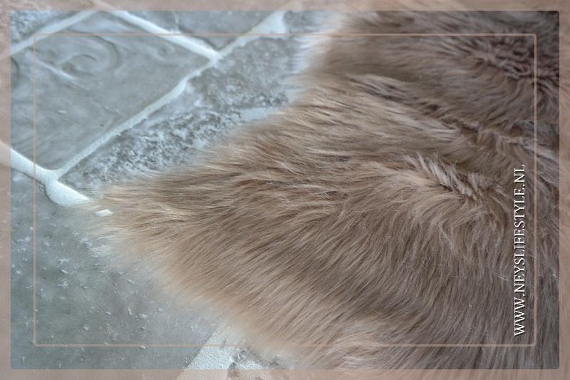 Schapenvacht fake fur | beige