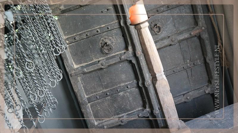 Kandelaar tafelpoot 1 | hout