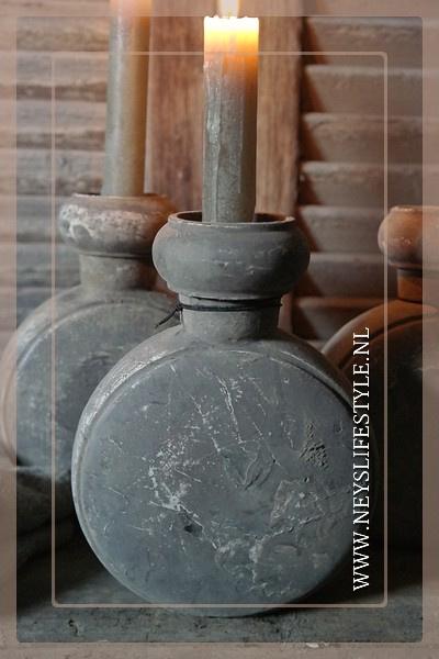Kandelaar kruik | cement finish
