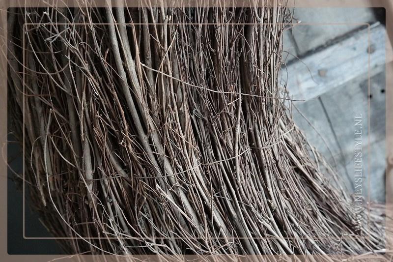 Krans Cyntiush naturel | 100 cm