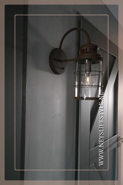 Wandlamp LED Lara | roest