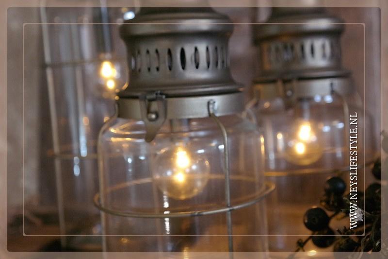 Olielamp lantaarn met lamp  L