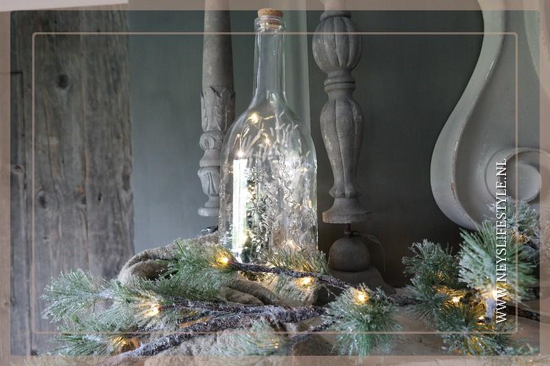Guirlande dennentak snow | LED