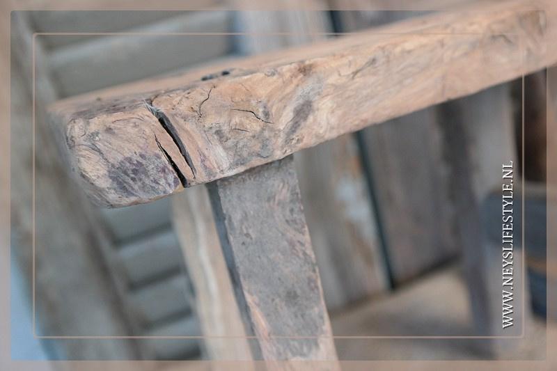Vensterbank krukje hout 6