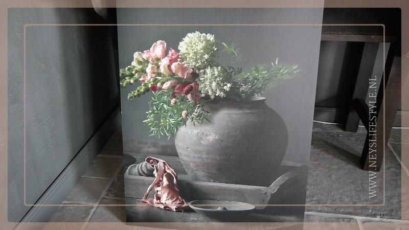 Deco board bloemen | Wanddecoratie