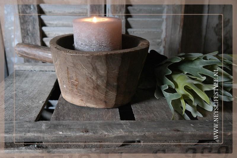 Oude houten vijzel | 3