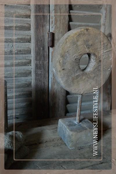 Ornament  grinder steen | M