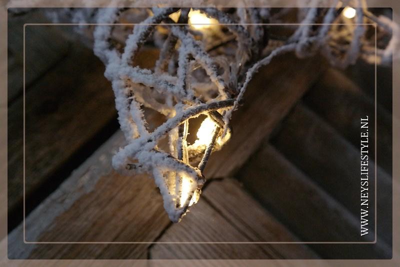 Ster LED rotan | S