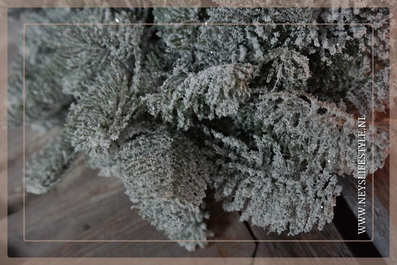 Krans kunst dennen snow | S