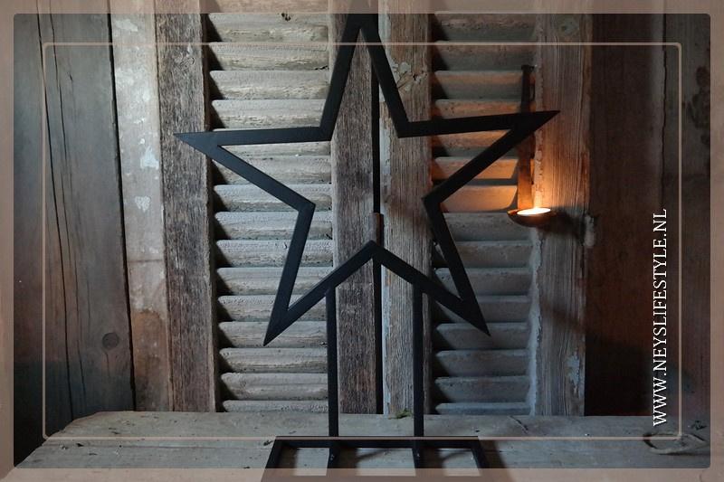 Star frame | black