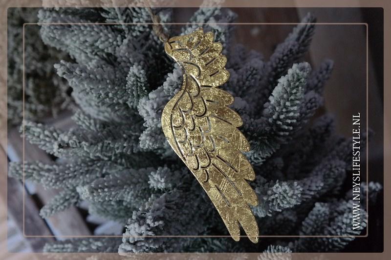 Vleugel set goud | 18 cm