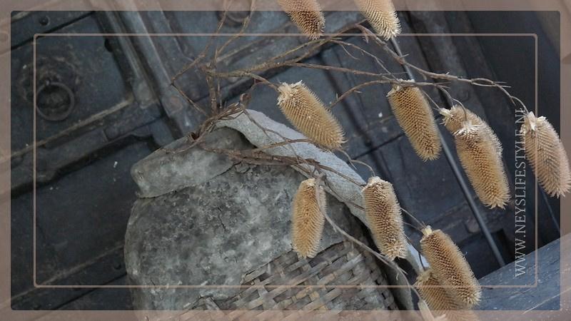 Pine cone kunst tak | 107 cm