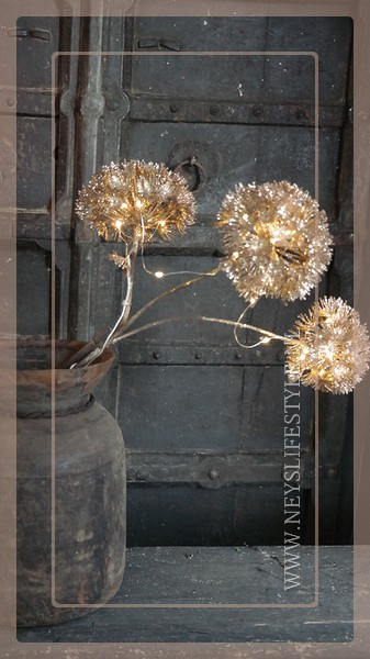 Heracleum tak LED brons | 3 takkig