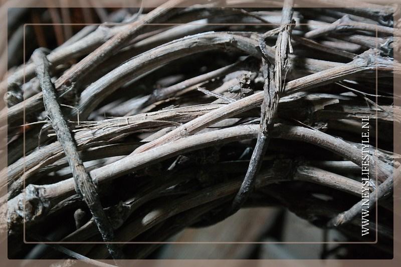 Krans Cayda naturel | 40 cm