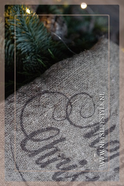 Linnen doek Merry Christmas