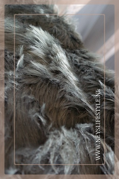 Schapenvacht fake fur | olive green
