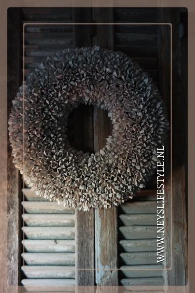 Krans Bakulli | whitewash | 45 cm