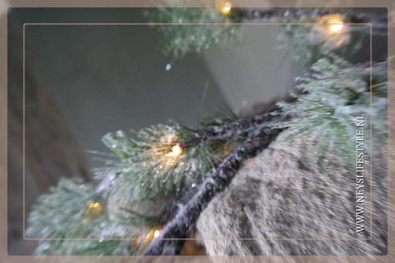 Guirlande dennentak snow   LED