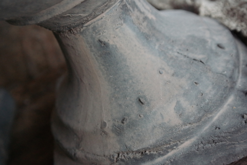 Bowl statue top touch S   grey