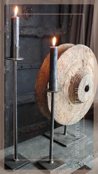 Kaarsen standaard ijzer | S