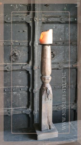 Kandelaar tafelpoot 2 | hout