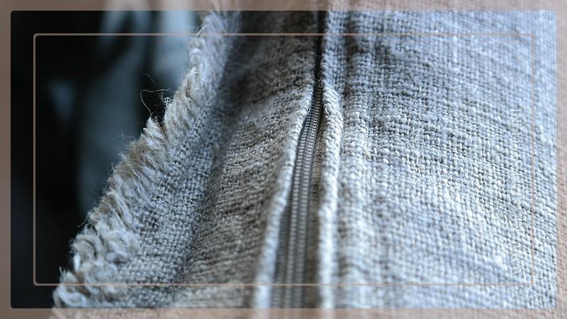 Kussen linnen 50 x 50 cm | naturel