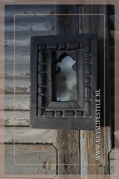 Spiegel hout India | 1