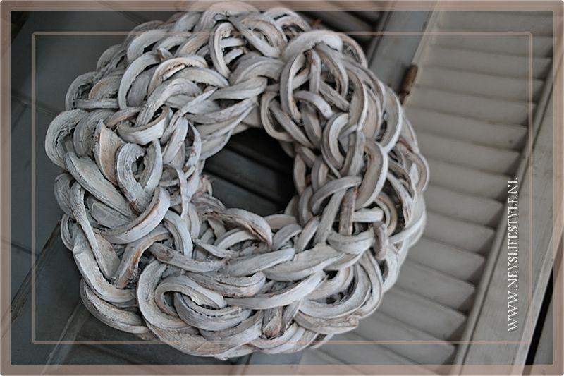 Krans Coco Slice | Whitewash | 40cm