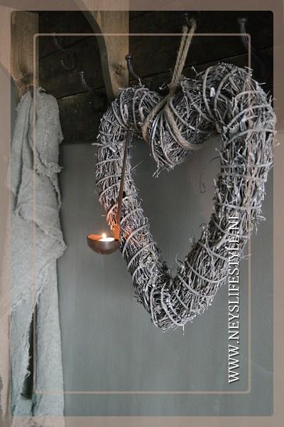 Hanger hart    grey