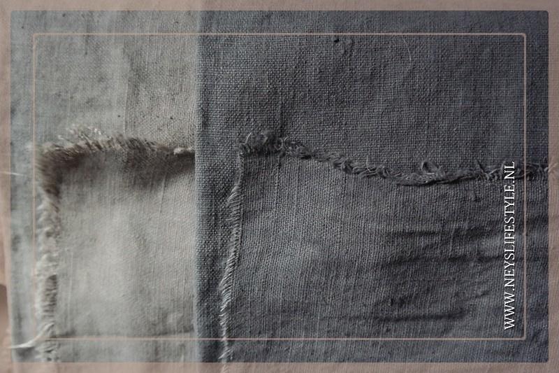 Plaid linnen 110 x 140 cm| grijs