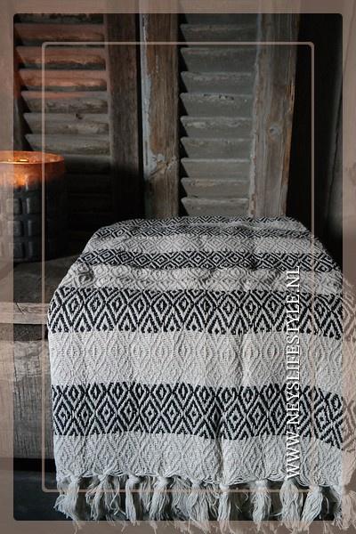 Plaid Pelma 166 x 130 cm | stripe