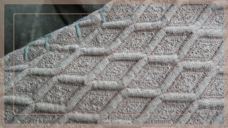 Kussen Cross 45 x 45 cm | roze