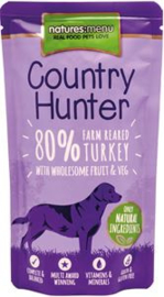 NM Dog Pouch Country Hunter Kalkoen 6 x  150 gram.