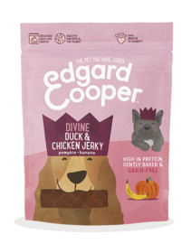 Edgard & Cooper Snacks Jerkey Duck/Chicken 150 gram