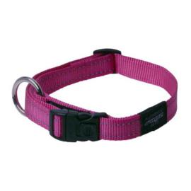 Rogz 4 Dogz Nylon Halsband Roze