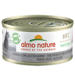 Almo Nature HFC Tonijn met jonge Ansjovis (10 stuks)