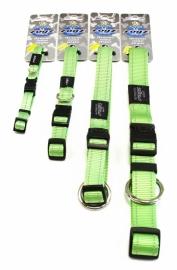 Rogz 4 Dogz Nylon Halsband Lime