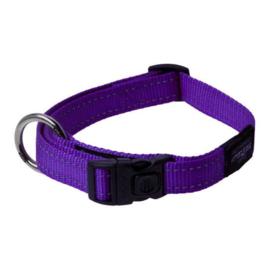 Rogz 4 Dogz Nylon Halsband Paars