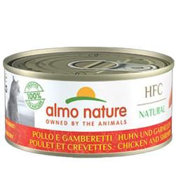 Almo Nature HFC Kip met Garnalen (10 stuks)